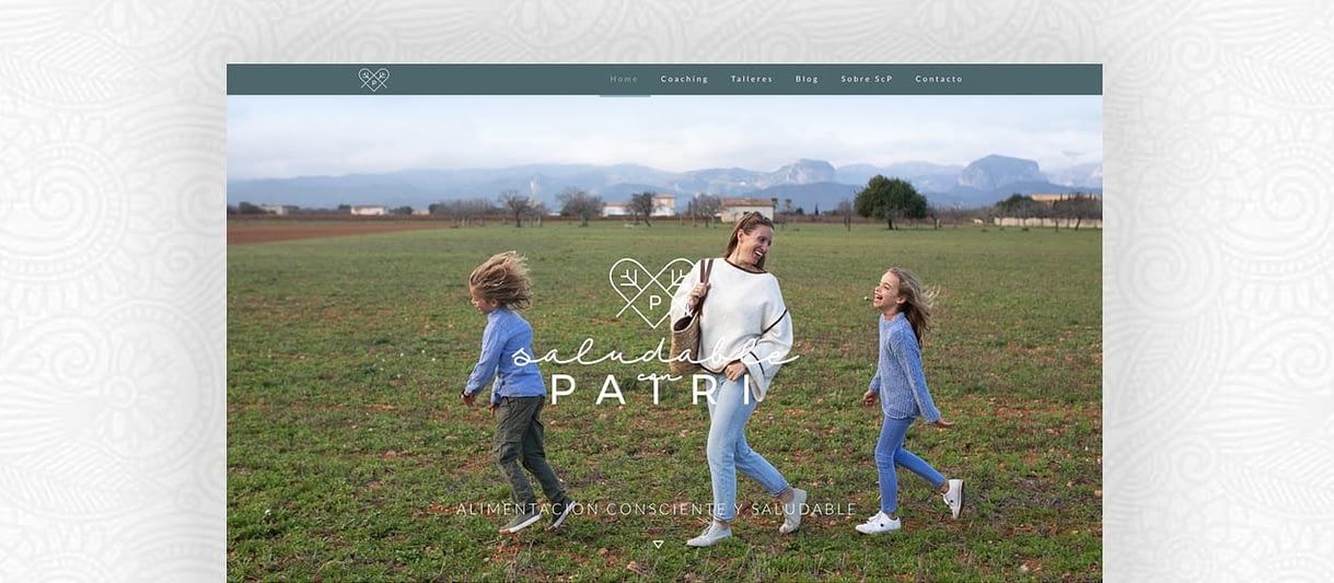 diseño web portada scp